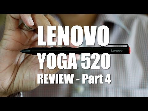 Lenovo Yoga 520 (Flex 5) Review Part 4  - The Active Pen