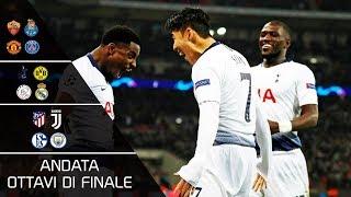 Ottavi di finale champions league 2018/19 - tutti i gol | andata