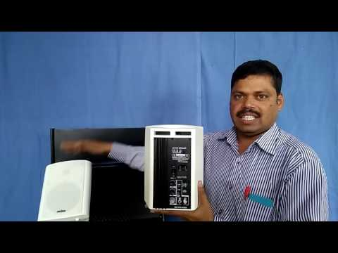 Classroom Multimedia and PA Combo  Speaker in India