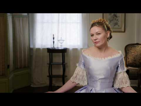"""The Beguiled: Kirsten Dunst """"Edwina Dabney"""" Behind the Scenes Movie Interview"""