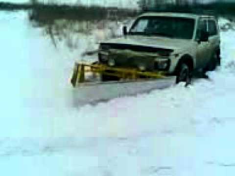 снежный отвал для нивы 1