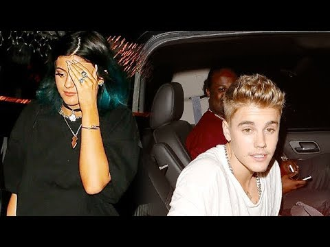 Kylie Jenner And Justin Bieber Enjoy A Dinner Date In Hollywood [2014]
