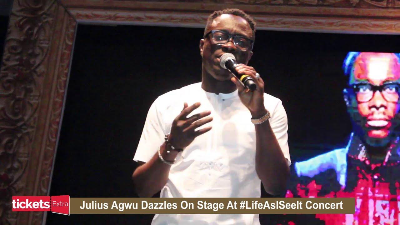 Download Julius Agwu's Opening Performance at Julius Agwu's Life As I See It Concert