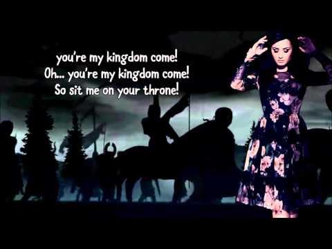 Demi Lovato Ft. Iggy Azalea - Kingdom Come (Lyrics)