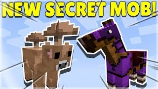 MINECRAFT JUST ADDED A NEW SECRET MOB TO THE GAME!