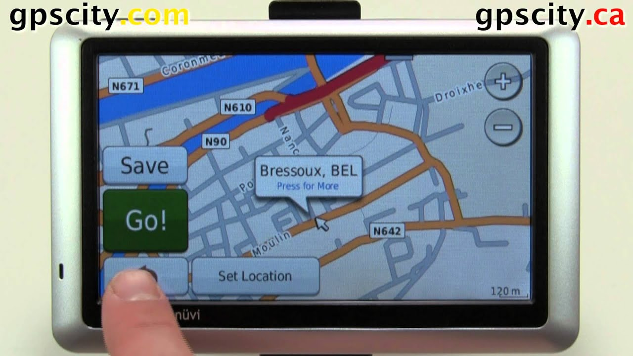 How To Install A Garmin Europe Map Card On The Nuvi  Series With Gpscity
