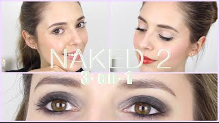 NAKED 2 d'Urban Decay | 3 maquillages