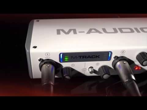 M-Audio M-Track 2-Channel USB Audio Interface