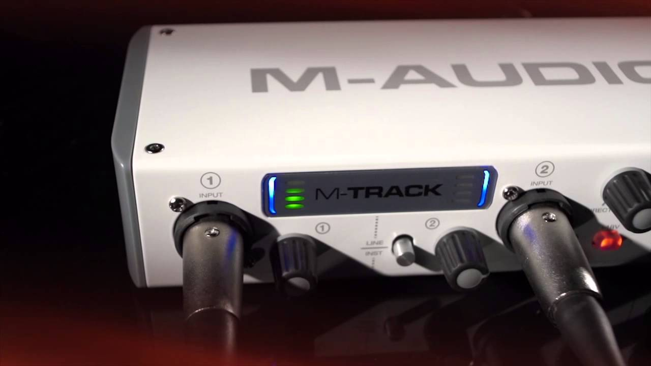 M-Audio M-Track 2-Channel USB Audio Interface on