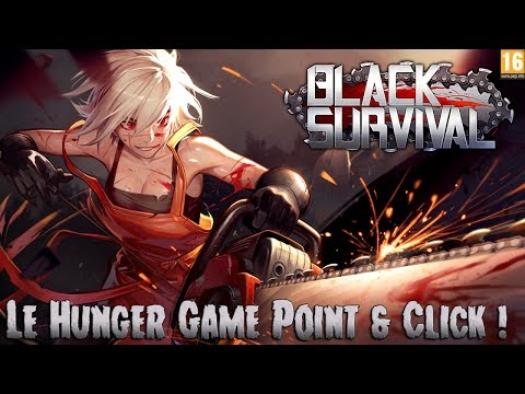 Tine's Play : Black Survival [FR] - Le Hunger Game Point & Click !