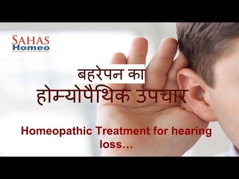 Hearing loss treatment in Homeopathy| Dr  N  C  Pandey, Sahas Homeopathy