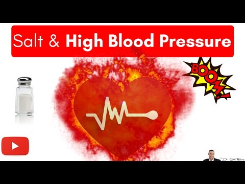 Salt Does Not Cause High Blood Pressure It Lowers It
