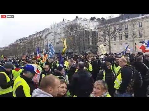 Gilets Jaunes acte 176 IRREDUCTIBLES France 09.03.2019 #GiletsJaunes #YellowVests