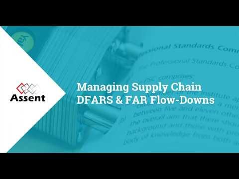 [Webinar] Managing Supply Chain DFARS & FAR Flow-downs