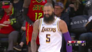 HIGHLIGHTS: Lakers 107, Hawks 106 (11/11/18)