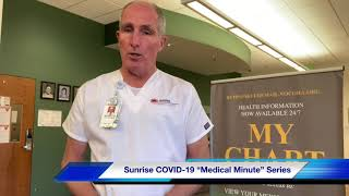 Sunrise Medical Minute with Dr. Mark Wallace -How Vaccine Works
