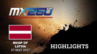MXGP of Latvia Race 2 EMX 250_HIGHLIGHTS #Motocross