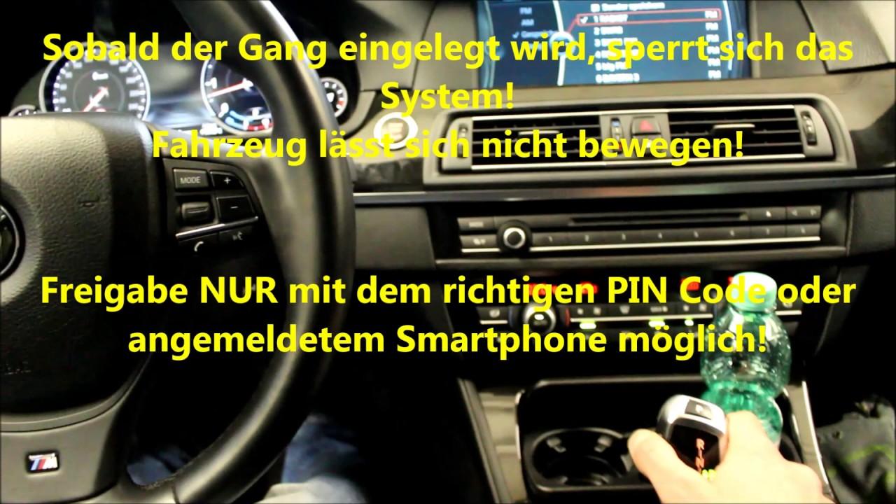 Bmw Wegfahrsperre Fahrzeugsicherung Pin Code Bimmer24de Youtube