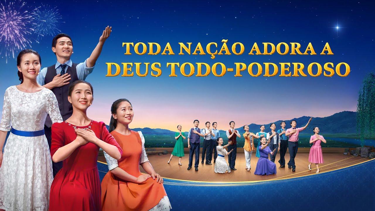 """Coral gospel """"Toda nação adora a Deus Todo-Poderoso"""" Vídeo cristão completo dublado"""