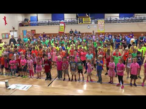 Ponca City Woodlands Elementary  12 Powerful Words Song