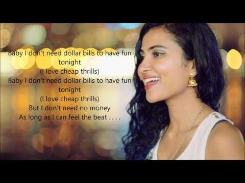 Cheap Thrills by Vidya Vox with Lyrics