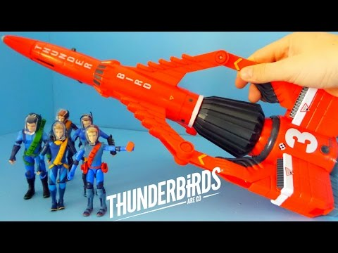 Thunderbirds Are Go Toys Unboxing | Thunderbird 3 and the Brothers Tracy
