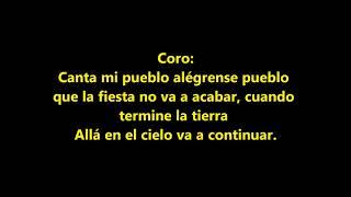 Ruben Chamorro Canta mi Pueblo Pista Con Letras