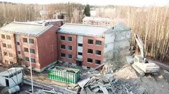 Talon purku-urakka, Liesharjunkatu 6, Lappeenranta 20.11.2018
