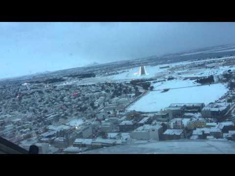 Landing Reykjavik