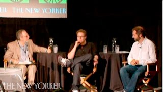 """judd apatow and seth rogen on """"knocked up"""" the new yorker festival"""