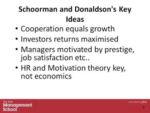 Corporate Governance and Social Accountability Lecture 3 Stewardship Theory