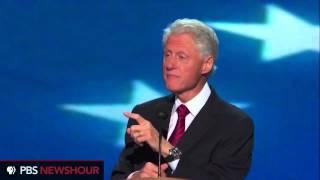 Mitt Romney vs. Bill Clinton. Mitt lies about welfare, Bill calls a lie a lie.