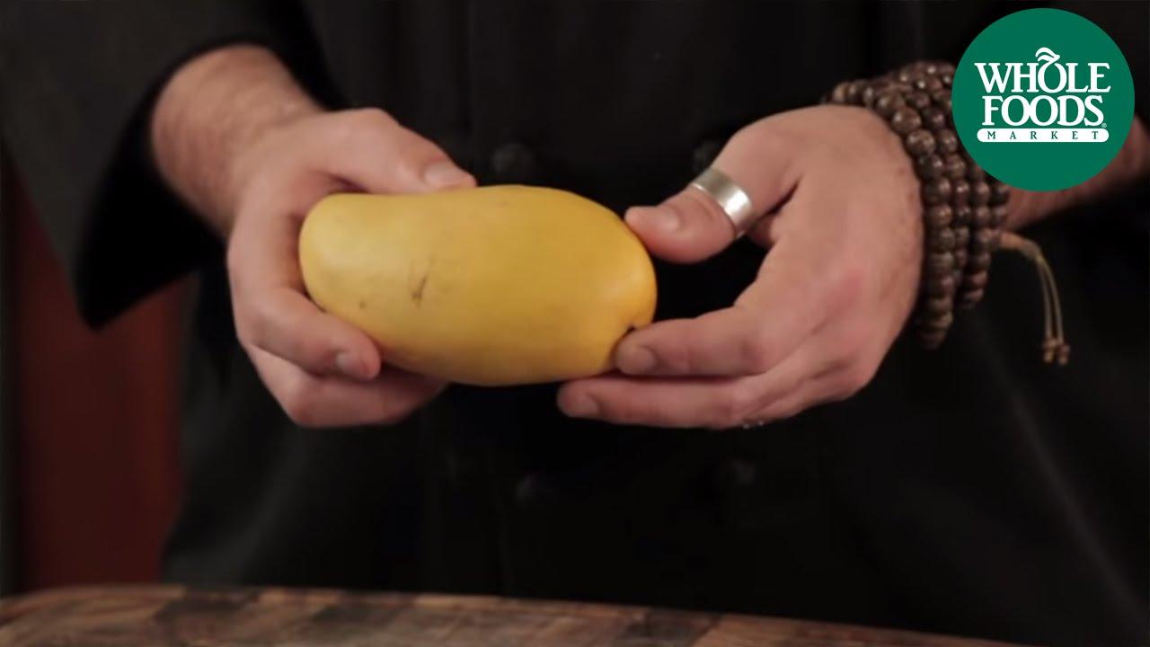 How to cut a mango produce whole foods market youtube ccuart Choice Image