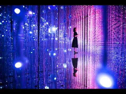 Interactive exhibit lets you walk among LED 'stars' (Tomorrow Daily 392)