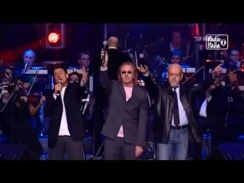 Umberto Tozzi Morandi Ruggeri - Si Puo' Dare Di Piu' (Live Radio Italia) Enhanced Audio