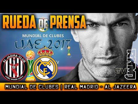 Rueda de prensa Zidane Semifinal Mundial de Clubes