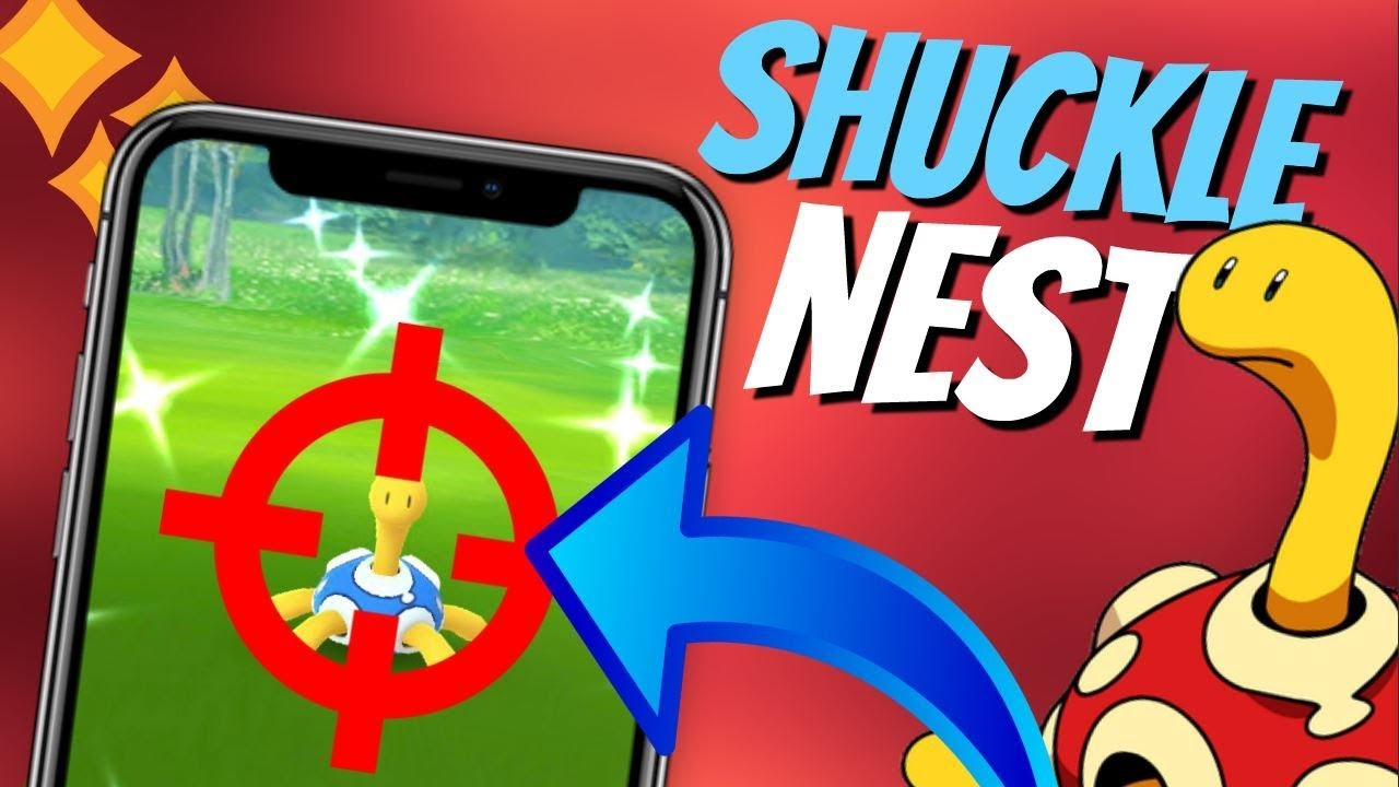 Best Shiny Shuckle Nest Coordinates in Pokemon GO | May 2019