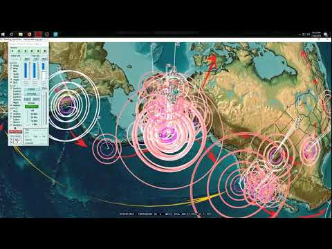 1/26/2018 -- California Earthquake unrest -- West Pacific large earthquake threat -- HAVE A PLAN