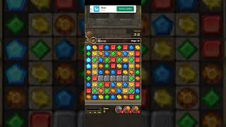 Jewels Temple-Quest 💎 Level 30 ⭐⭐⭐ - 2021 Match 3 Game no Booster 👑 Android Gameplay ✅ screenshot 4