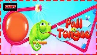 Trò chơi kéo lưỡi Chú ếch lưỡi dài ăn ngôi sao vàng cu lỳ chơi game lồng tiếng vui nhộn funny gamepl