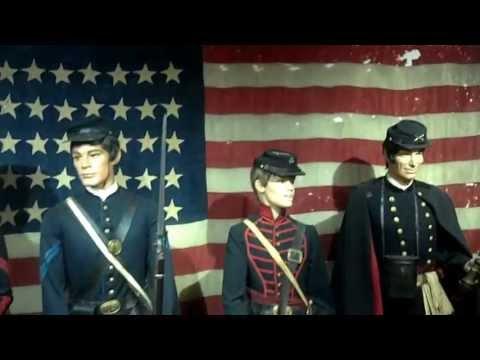 Andersonville, GA. Civil War Museum, In Real Uniforms....