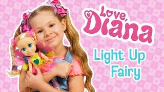 Love Diana Light Up Fairy Doll