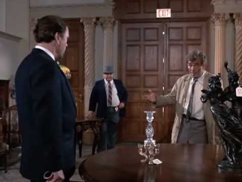 The Great Lt. Columbo Making an Arrest