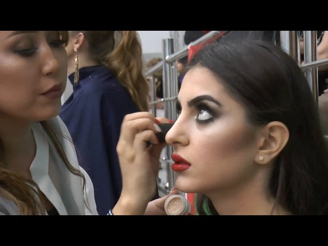 Eurasian Beauty Championship of Hairstyling Art & Make Up 2016 in Baku
