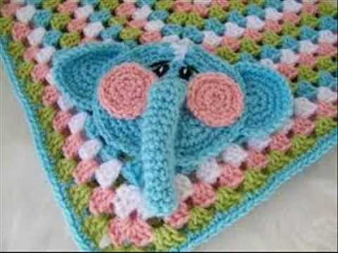 Easy Crochet Baby Blankets Cute Floral Animal Figures - YouTube