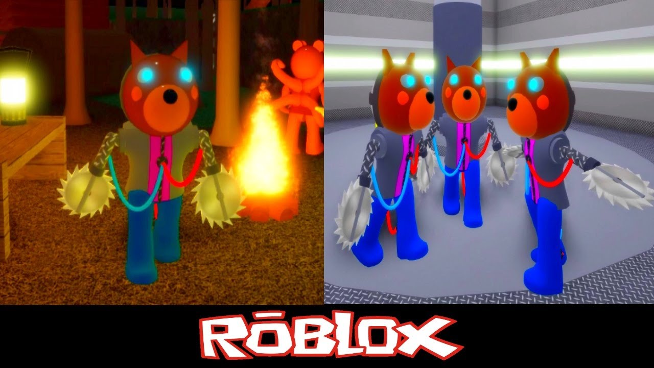 Pghlfilms Roblox Piggy Rp Playing As Cyborg Doggy Piggy Roleplay By Tenuousflea Roblox