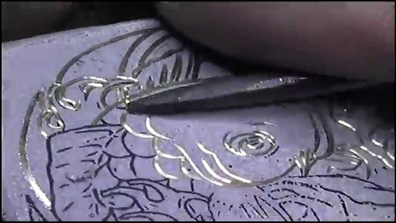 Zippo Lighter Hand Engraved Japanese Koi Fish By Shaun Hughes Youtube