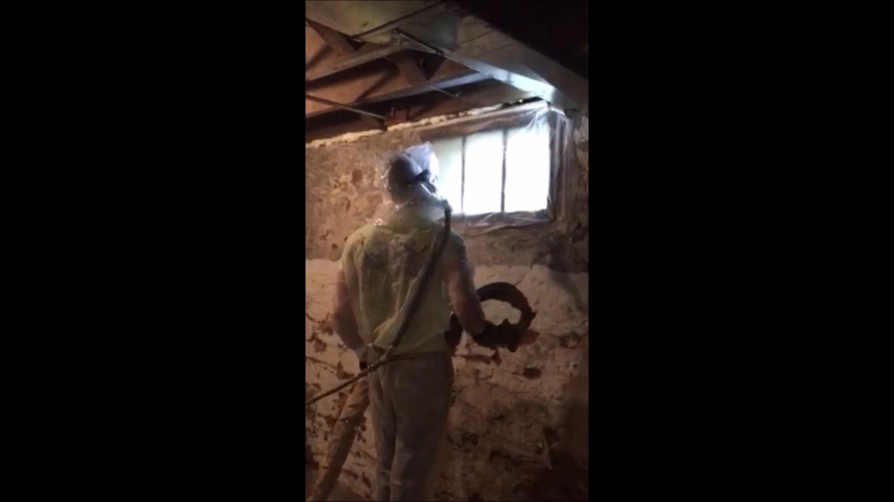 Insulating a Rim Joist - YouTube