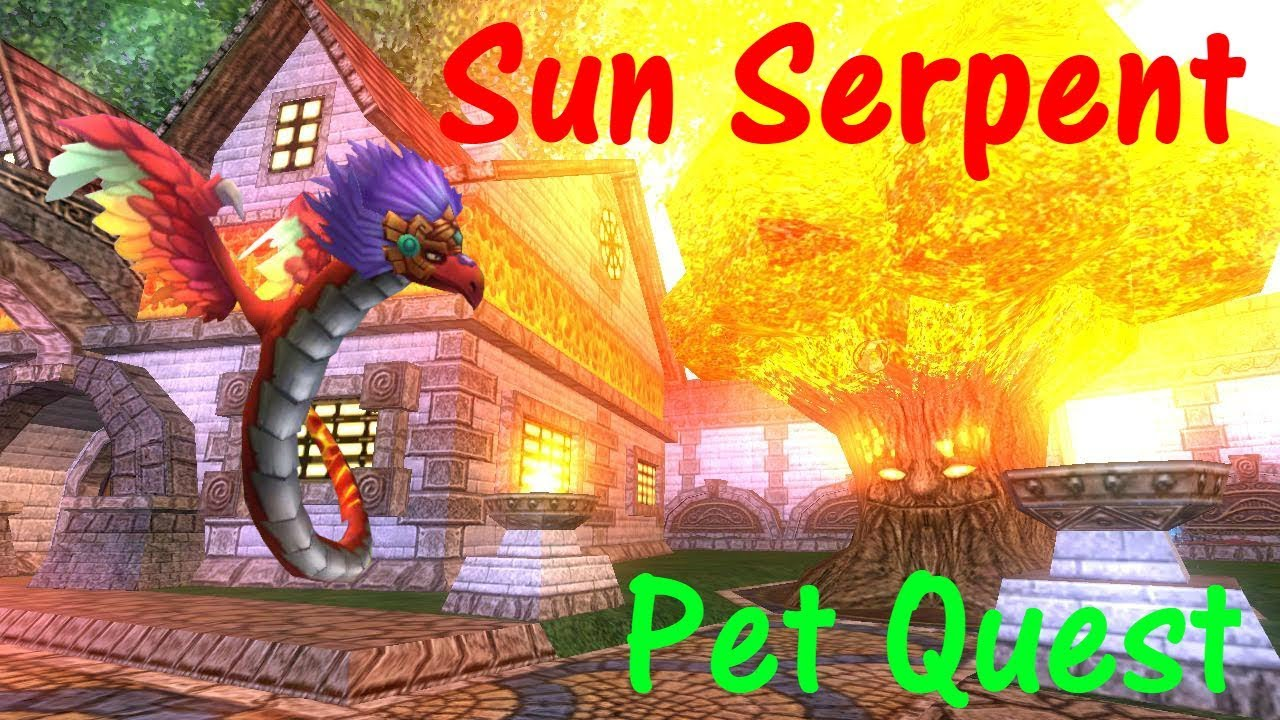 Wizard101 Ice Pet Quest