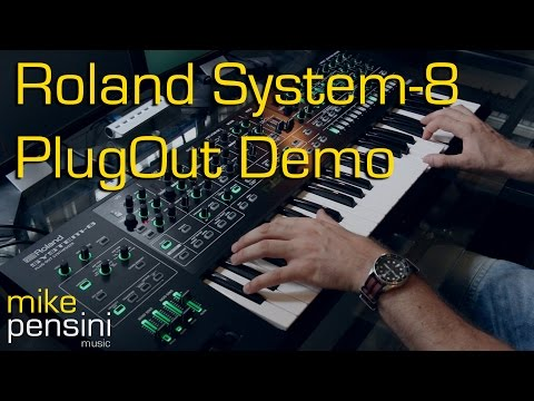 Roland System-8 PlugOut Demo by Mike Pensini